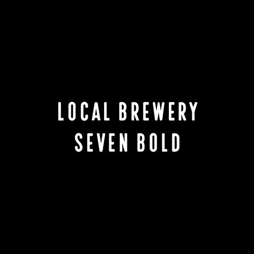 Local Brewery Seven Bold Font - 1 User