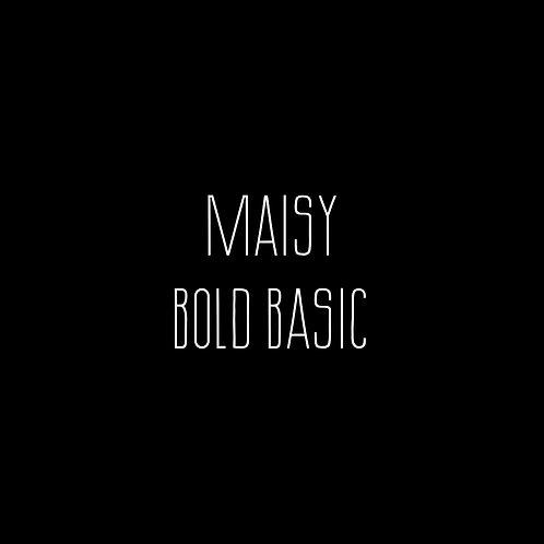 Maisy Bold Basic Font - 1 User