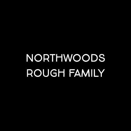 Northwoods Rough Font Family - 1 User