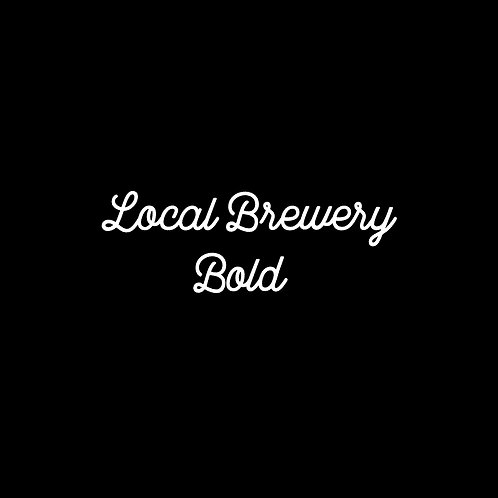 Local Brewery Bold Font - 1 User