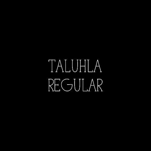 Taluhla Regular Font - 1 User