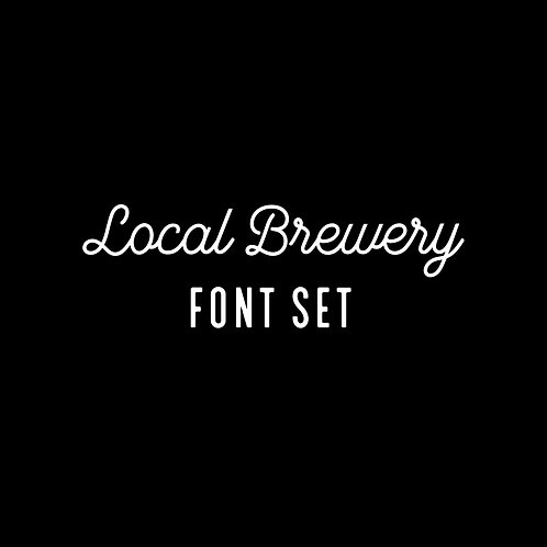 LOCAL BREWERY | FONT FAMILY