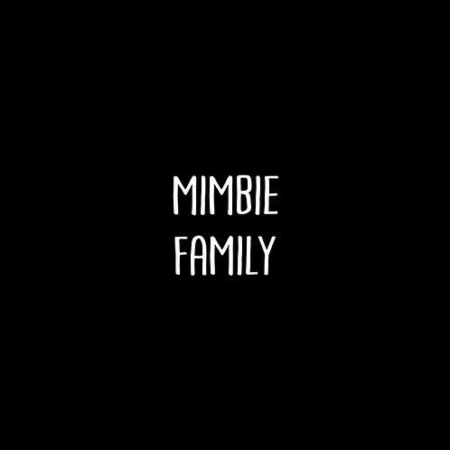 Mimbie Font Family - 1 User