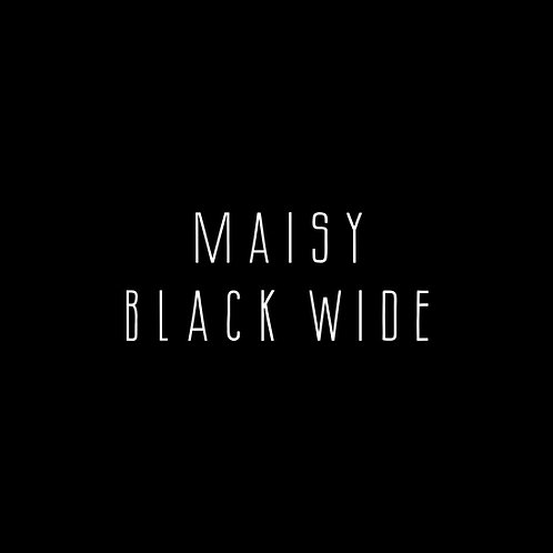 Maisy Black Wide Font - 1 User