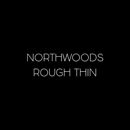 Northwoods Rough Thin Font - 1 User