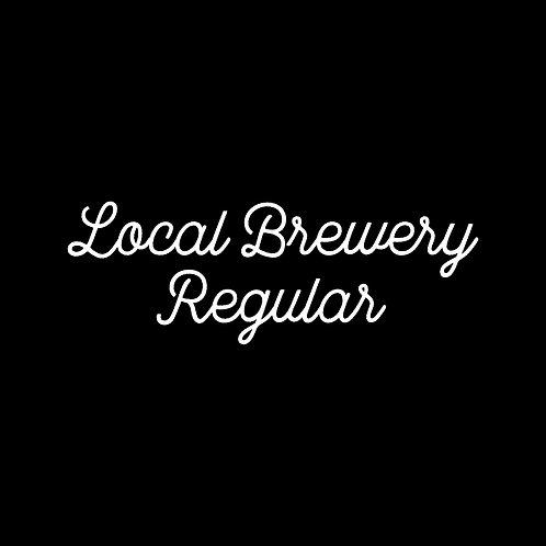 LOCAL BREWERY | REGULAR FONT