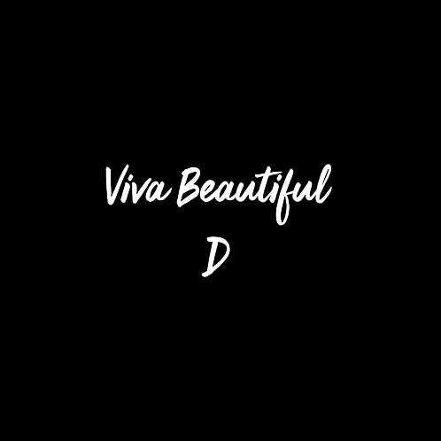 Viva Beautiful D Font - 1 User