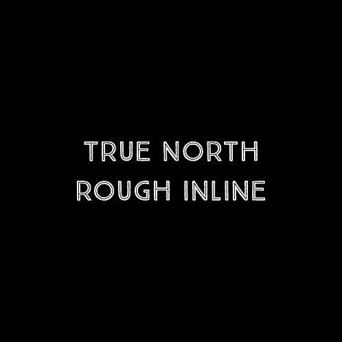 True North Rough Inline Font - 1 User