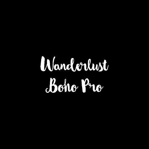 Wanderlust Boho Pro Font - 1 User