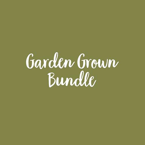 GARDEN GROWN FONT BUNDLE