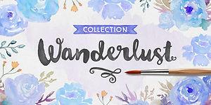 Wanderlust Font Kit