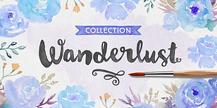 Wanderlust Font Collection