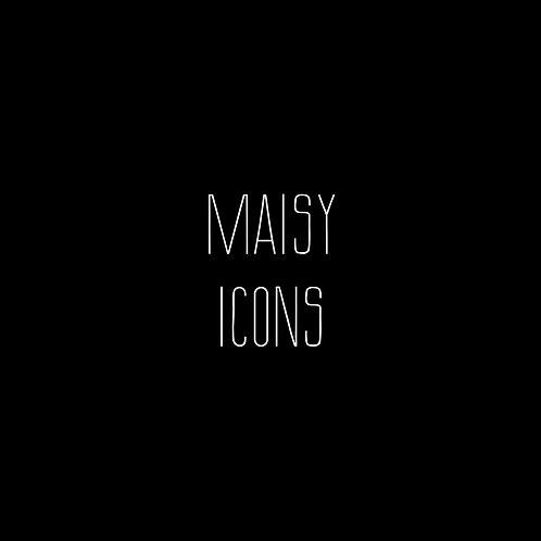 Maisy Icons Font & Vector Art - 1 User