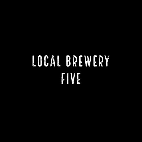 LOCAL BREWERY | FIVE FONT