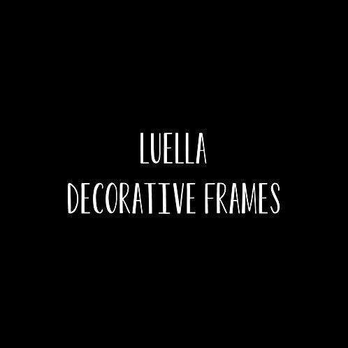 Luella Decorative Frames Font & Vector Art - 1 User