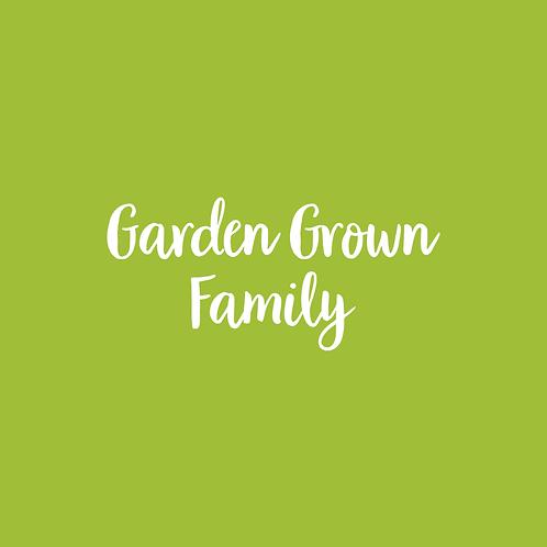 GARDEN | FONT FAMILY
