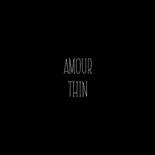 Amour Thin Font - 1 User