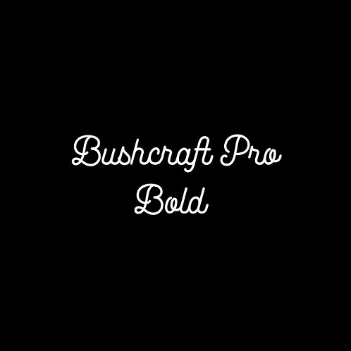 Bushcraft Pro Bold Font - 1 User