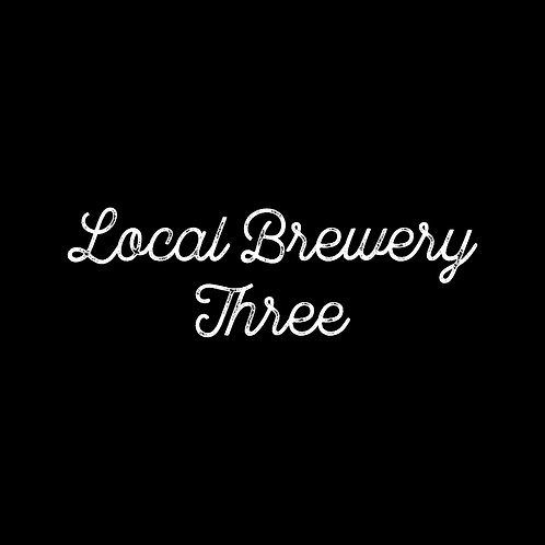 LOCAL BREWERY | THREE FONT