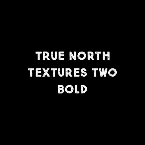 True North Textures Two Bold Font - 1 User