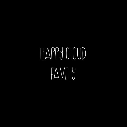 Happy Cloud Font Family - 1 User