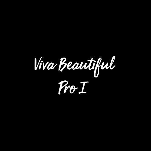 Viva Beautiful Pro I Font - 1 User