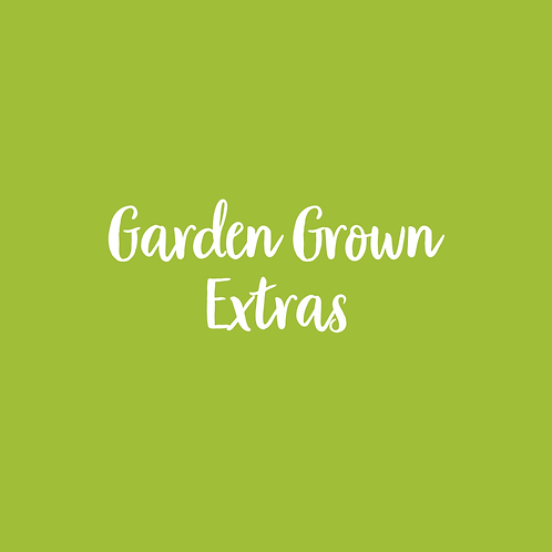 GARDEN GROWN | EXTRAS FONT & ART