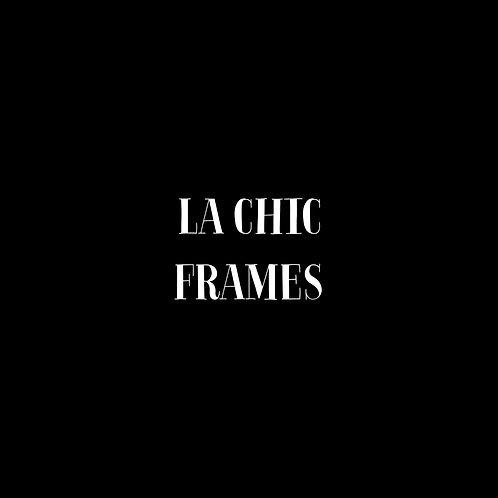 La Chic Frames Font & Vector Art - 1 User