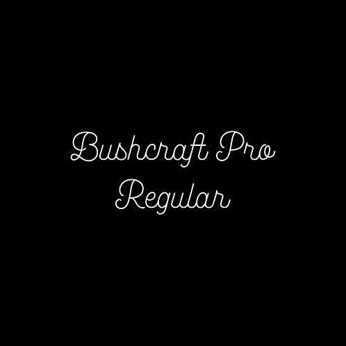 Bushcraft Pro Regular Font - 1 User