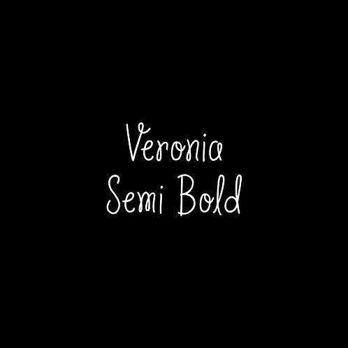 Veronia Semi-Bold Font - 1 User