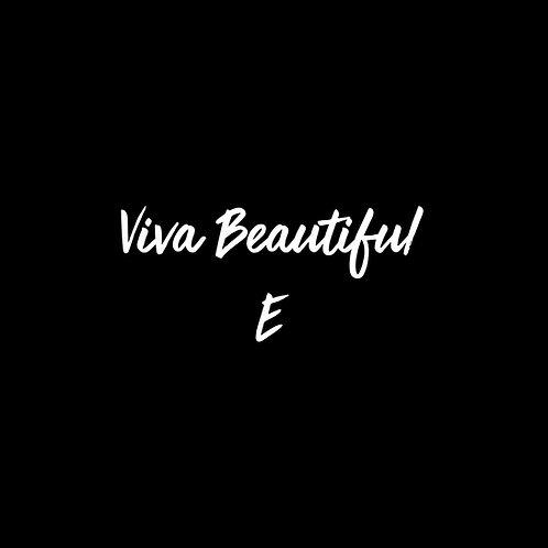 Viva Beautiful E Font - 1 User