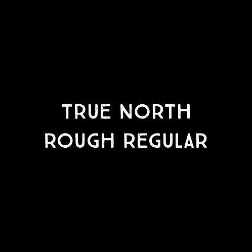 True North Rough Font - 1 User