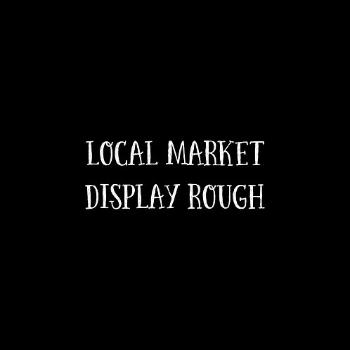 Local Market Display Rough Font - 1 User