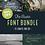 Thumbnail: RUSTIC | FONT BUNDLE