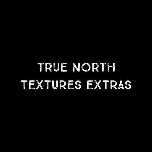 True North Textures Extras Font & Vector Art - 1 User