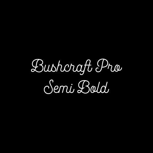 Bushcraft Pro Semi Bold Font - 1 User