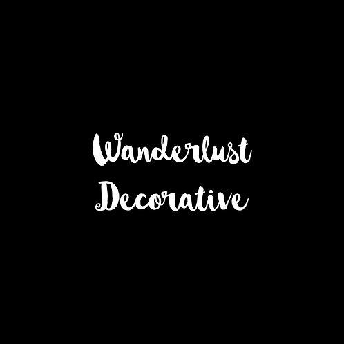 Wanderlust Decorative Font - 1 User