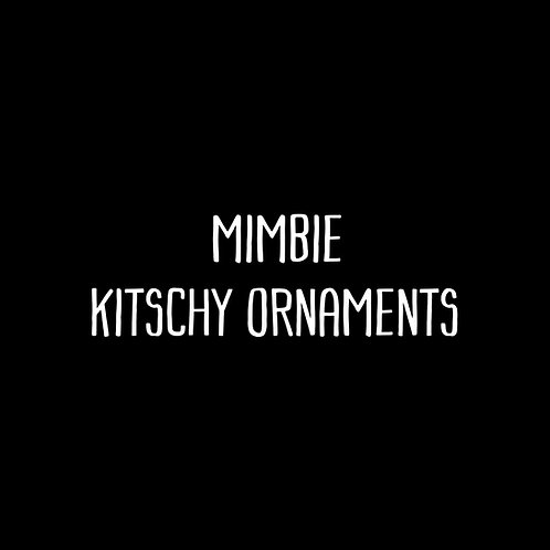 Mimbie Kitschy Ornaments Font & Vector Art - 1 User
