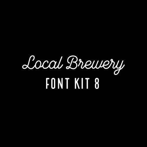 LOCAL BREWERY | EIGHT FONT KIT