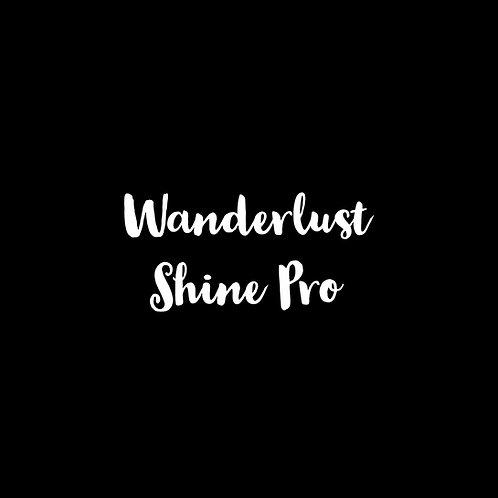 Wanderlust Shine Pro Font - 1 User