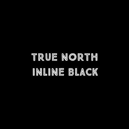 True North Inline Black Font - 1 User