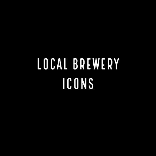 LOCAL BREWERY | ICONS ART FONT & VECTORS