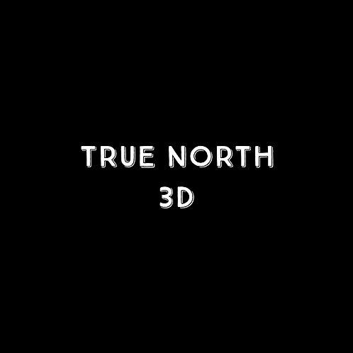 True North 3D Font - 1 User