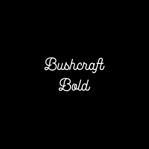 Bushcraft Bold Font - 1 User