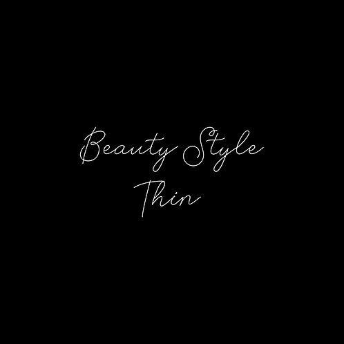 Beauty Style Thin Font - 1 User