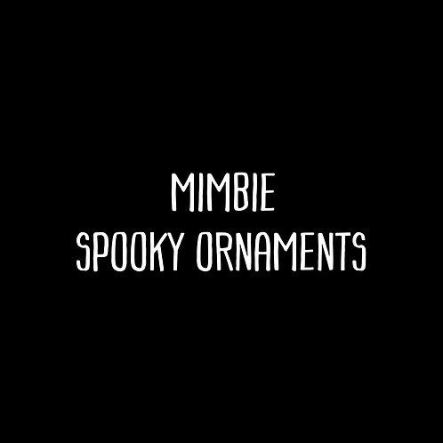Mimbie Spooky Ornaments Font & Vector Art - 1 User