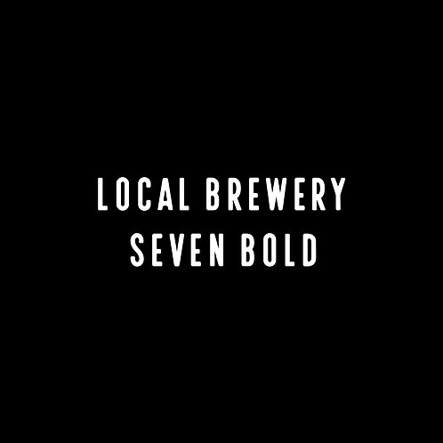 LOCAL BREWERY | SEVEN BOLD FONT