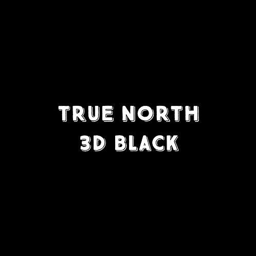 True North 3D Black Font - 1 User