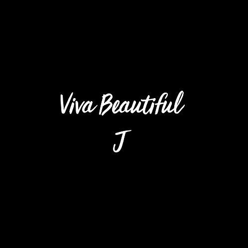 Viva Beautiful J Font - 1 User