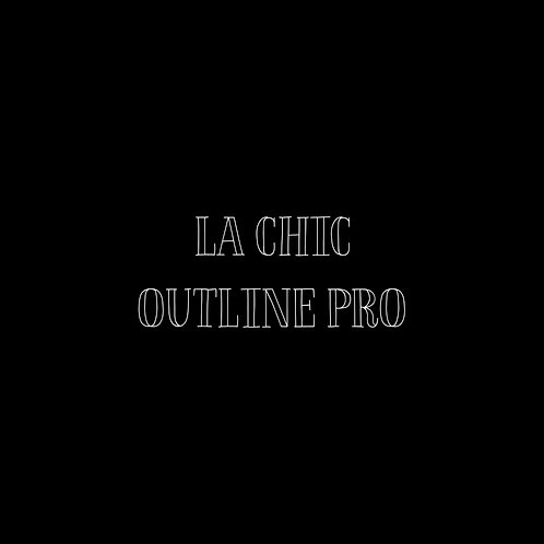 La Chic Outline Pro Font - 1 User
